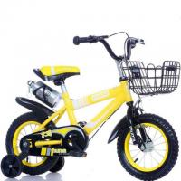 China Factory wholesale training wheel kids mountain bike with front basket wholesale