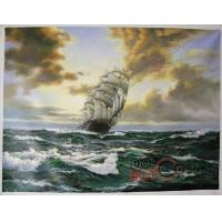 China Ship Oil Painting On  Canvas 100% Hand-painted SC017 wholesale