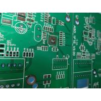 China High Precision Rigid Sided PCB Board Assembly Thickness1.6mm FR4 Material With 2-layer Green Solder Mask wholesale
