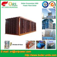 China Electrical Water CFB Boiler Economizer Power Plant , Steam Boiler Economizer wholesale