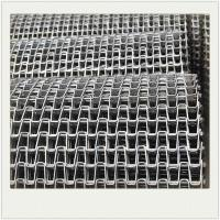 China Horseshoe Stainless Steel Wire Mesh Conveyor Belt For Bottle Conveyor wholesale