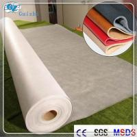 China Polyester Nylon Microfiber Nonwoven Synthetic Leather Fabric Raw Material wholesale