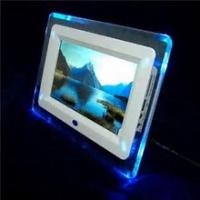 "China 7"" Rocking White Digital Picture Frame , Commercial Electronic Pictures Frames wholesale"