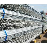 en10217.1 ERW Hot dipped galvanized round steel pipe/gi pipe pre galvanized steel pipe