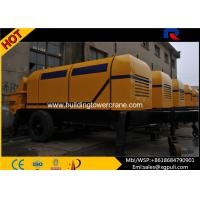 China Stationary Diesel Concrete Pump Filling Height 1400mm For Construction Projects wholesale
