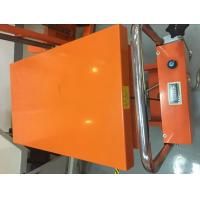 China Mobile Hydraulic Lifting Table With Scale , Stable Performance Scissor Lift Cart wholesale