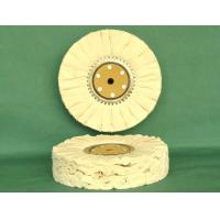 China Cotton Bias Buff / Polishing Wheel wholesale