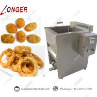 China Onion Ring Frying Machine|Industrial Frying Machine|Automatic Onion Ring Frying Machine|Frying Machine Price|Onion Fry on sale