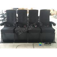 China Playground Center 4D Movie Theater Motion Chair Bubble / Fire / Smoke Effects wholesale
