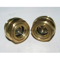 China Metric Thread Brass Oil Sight Glass wholesale