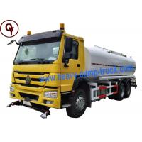 China China Heavy Duty Sprayer Water Truck 6x4 Drive Type with 20000 Liter Water Tank wholesale
