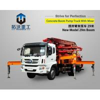 China Full Function Truck Mounted Boom Pump Adopt Domestic Famous Brand 500 Compulsory Mixer on sale