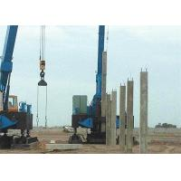 China Custom Hydraulic Piling Machine 1.6-1.9m Piling Stroke Square And Spun Type wholesale