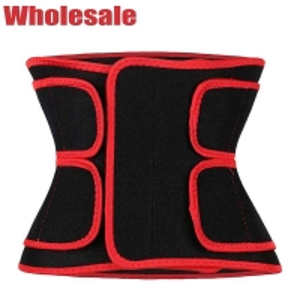 China Velcro Button Waist Trimmer Belt Medium Workout Stomach Band wholesale