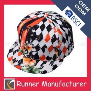 China Cheap Hawaiian Floral Printing Snapback Cap Hat wholesale