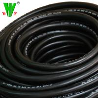 China 1 1 4 hose SAE100 r6 high tensile textile braided fuel hose wholesale