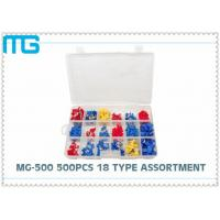 China MG - 500 500 pcs SV RV Terminal Assortment Kit 18 Types CE ROHS Approved wholesale