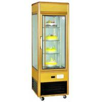 China Toughened Glass Refrigerated Display Unit 4 Layer Cupcake Display Case wholesale