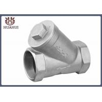 China DN50 Y Type Strainer Stainless Steel 304 Thread Type With Screen ISO Certification wholesale