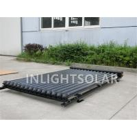 For slope roof 10-30 tubes white heat pipe solar collector panel