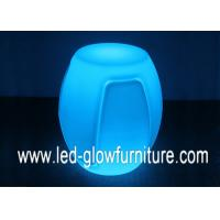 China Rechargeable battery Plastic RGB Color led glow balls , glowing led bench wholesale
