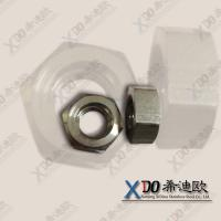 China supplying  inconel 600 China hardware stainless steel fasteners hex nut M6-M64 wholesale