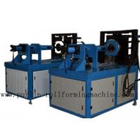 China Curving Elbow Stone Coated Roof Tile Machine Functional Blue wholesale