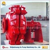 China red color industrial abrasive slurry pump wholesale