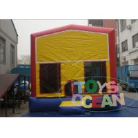 Quality Classical Module Jumps Inflatable Bouncer House With Different Banner 13x13ft for sale