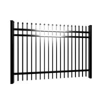China Garrison Fence Security Fence, Crimped And Pressed Spear Top Fencing For Sale wholesale