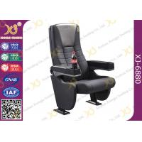 China Grey Longer Back Movie Chair Furniture / Cinema Theatre Seats wholesale