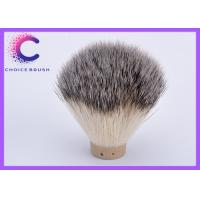 China 22mm Dia 58mm loft Silvertip badger hair shaving brush Knot synthetic knots wholesale