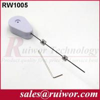 Buy cheap Tablet Security Tether , Retractable Tool Reel With Double Sided Adhesive from wholesalers