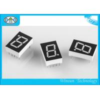 China Large 7 Segment Display For Multimedia Product , 0.5 Inch One Digit Numeric LED Display wholesale