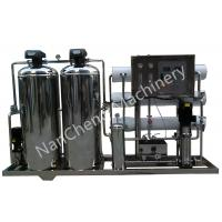 China Automatic / Manual Pure Water Purification Systems Stainless Steel Machine Frame on sale