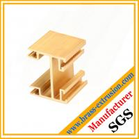 China wooden door copper frame extrusion profiles sections wholesale