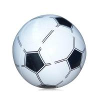 Soccer / Basketball Inflatable Beach Ball 16 Inch Tactile Stimulation Function