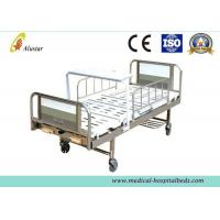 2 Crank Stainless Steel Medical Hospital Beds With Turning Table (ALS-M245)
