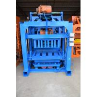 Buy cheap Semi - Auto Cement Block Paver Making Machine To Make Cement Pavers , Bricks from wholesalers