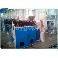 China Single Screw Plastic Extruder Machine , PE / PP Sheet Extrusion Line With SIEMENS Motor wholesale