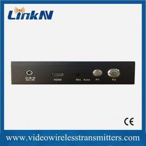 Military Body worn COFDM Wireless Hd Video Transmitter Long Range digital video transmission system