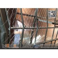 China Aluminium Sleeve Stainless Steel Wire Cable Mesh | China Decorative Wire Mesh Exporter wholesale