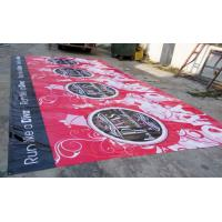 China large format outdoor advertising pvc / vinyl  banners printing wholesale
