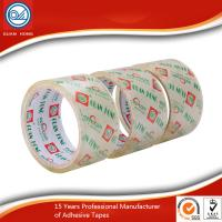 China ISO&SGS Certificated Crystal Clear Tape Pure Crystal Clear Tensile Strength wholesale