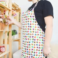 Wholesale Custom Printed Cotton Kitchen Apron Canvas Fabric Uniform No Sleeve from china suppliers