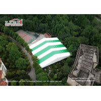 China Customized Clear Span PVC Sports Shelter Tent For Indoor Tennis Court wholesale