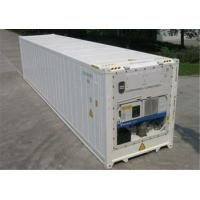 China Steel Used Cold Storage Containers For Sale , 40ft Reefer Container wholesale