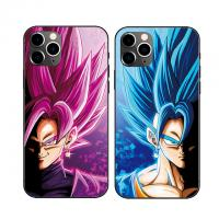 China 3D Triple Transition Lenticular Cell Phone Case With DBZ Anime Cover For Phone Cases wholesale