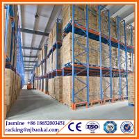 China warehouse drive in rack heavy duty pallet rack handling logistic actory supplier wholesale