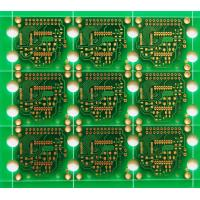 China 2- Layers Double Sided PCB Board FR4 Material ENIG Surface Finish High Frequency Wave Soldering wholesale